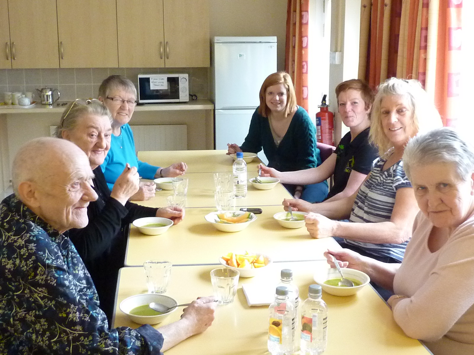Eat Well Feel Well Lovell Park Court