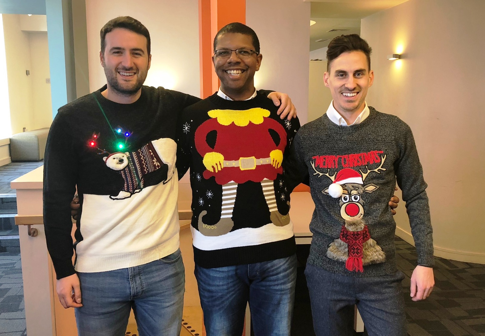 Morgan City Living Fundraising for CT on Christmas Jumper Day