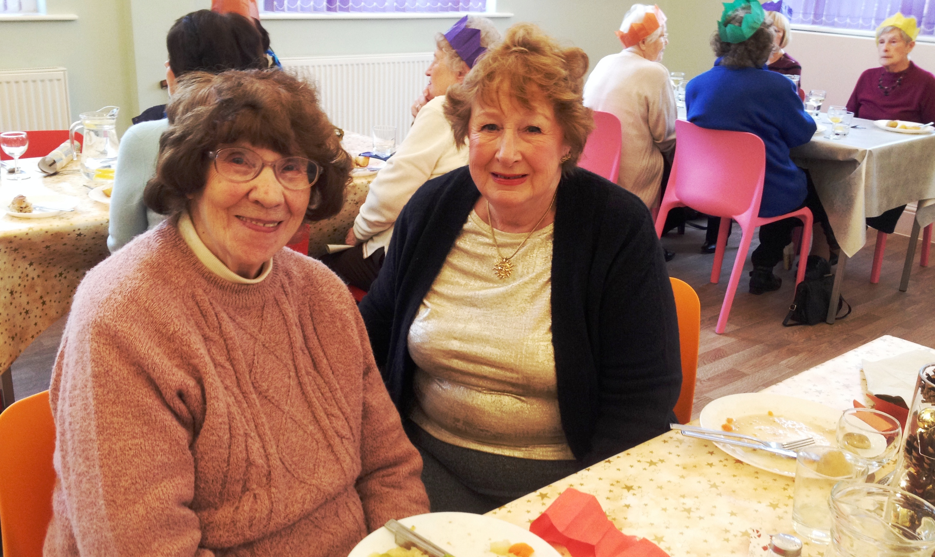 Leeds Benevolent Society for Single Ladies Christmas Lunch