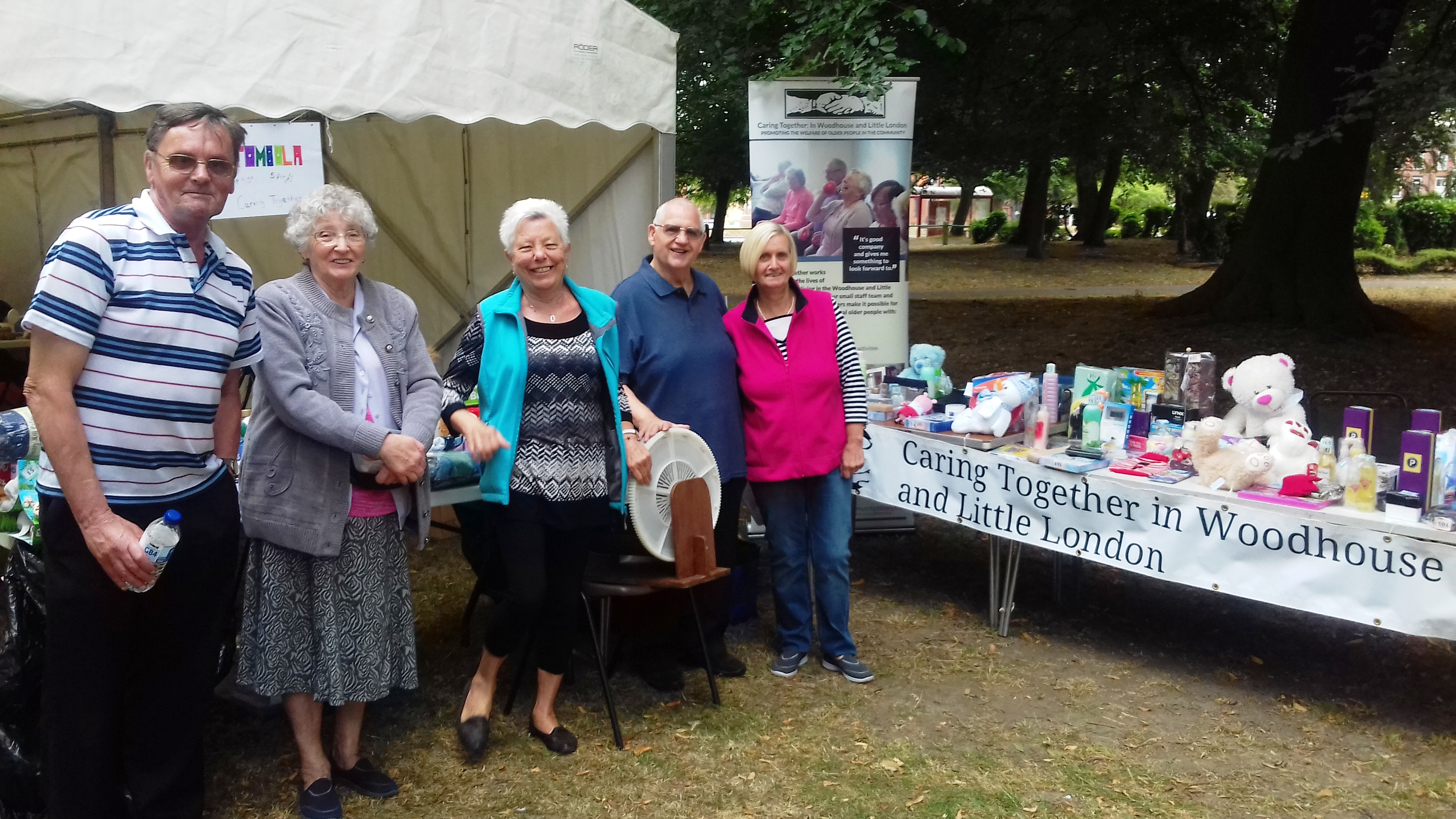 c2cd7ef8ed7 Caring Together had a Tombola and Hook a Bag stall once again at the Unity  Day in Hyde Park last Saturday. It was another fantastic community event.